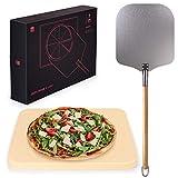 Blumtal Pizzastein Gasgrill & Pizzasschieber -...