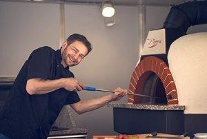 Pizzastein für Backofen vorheizen