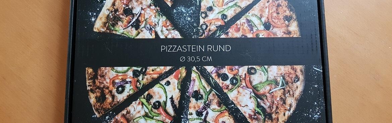 Runder Pizzastein Navaris Teaser