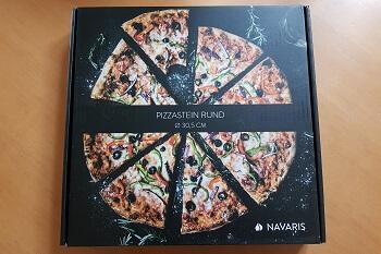 Runder Pizzastein Navaris